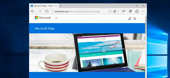 Windows 10 Edge Browser